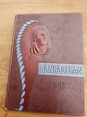 Kankakeean Yearbook Vintage 1947