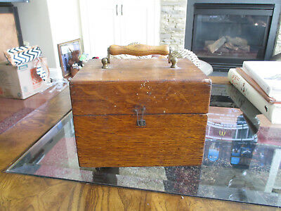 Antique Wappler Electric Connector Co. Quack Medicine Electro Shock In Wood Box