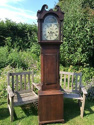 Eight Day Longcase Grandfather Clock