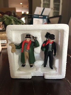 Town Crier and Chimney Sweep Christmas in the City Department 56