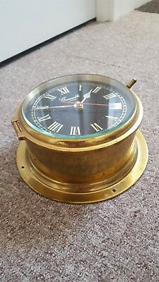 Vintage style ships clock