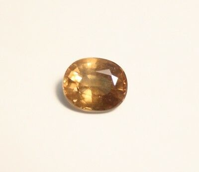 1.31ct Honey Yellow  Malaya Garnet - Precision Large Oval Cut Gem