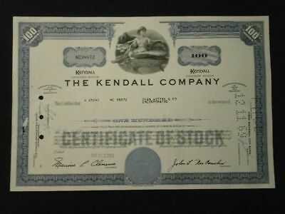 +++ Historische Aktie The Kendall Company 1969 +++