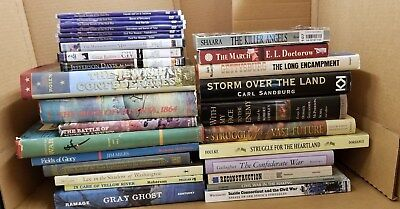 Lot of 29 CIVIL WAR Books and DVDs