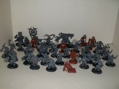 GW Games Workshop Lord of the Rings Miniatures Large Lot, Plus trees