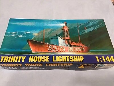 Trinity House Lightship SOUTH GOODWIN - CHEMATIC (FROG) 1:144