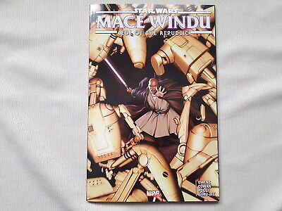 STAR WARS MACE WINDU Jedi of the Republic TPB (US Marvel Tradepaperback)