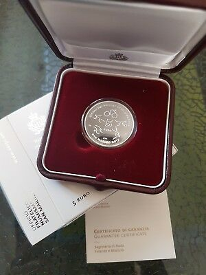 5 Euro San Marino 2017 Games of the Small States of Europe in PP RAR