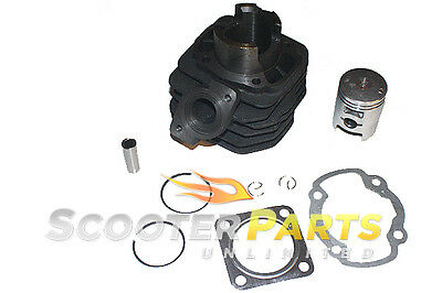 Cylinder Piston Kit For 49cc 50cc Scooter Mopeds Kymco Vitality 50 Super 8 50 2T