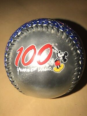 NEW!! Disney Collectable Baseball Ball - Disney 100 Years - Very Rare