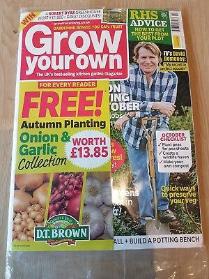 Grow Your Own October 2018