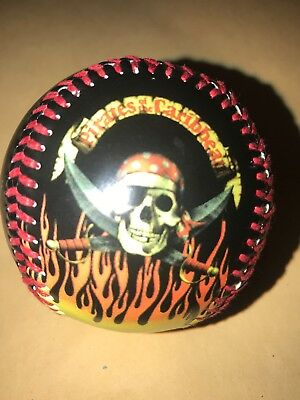NEW!! Disney Collectable Baseball Ball - Disney Land - Pirates Of The Caribbean