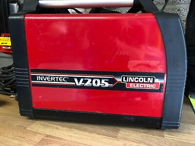 Lincoln Invertec V205 MMA Stick Tig Welder