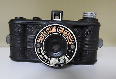 Vintage Brenda Starr Cub Reporter Bakelite Camera By Seymore Products