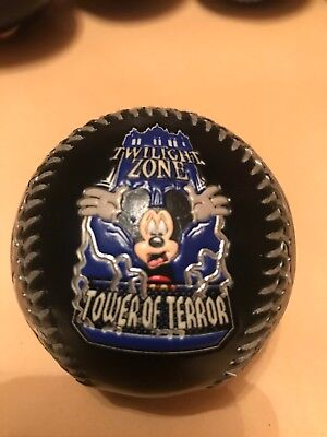 NEW!! Disney Collectable Baseball Ball - Disney World - Tower Of Terror