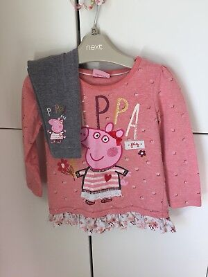 Peppa Pig Outfit Aged 1-2 Years