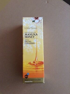 Wild Ferns pure  New Zealand  Maluka  honey face products
