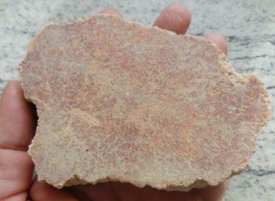 Superb Roman Red Painted Fresco Wall Plaster From Pompeii Villa 79Ad. Recorded