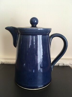 Denby Stoneware Teapot - Blue And Yellow