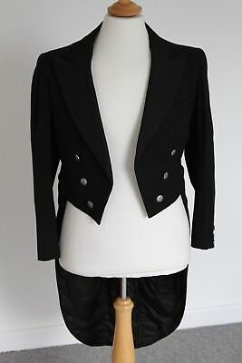 Gents Vintage Bespoke Tailcoat With Trousers Circa 1935    Size M