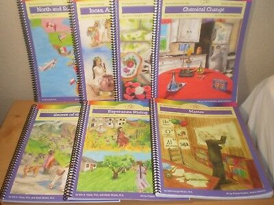 Moving Beyond the Page book LOT of 7 Ages 10 - 12 Language Arts Science Social