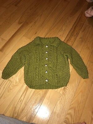 Hand Knitted Cardigans Boys 2-3 Years