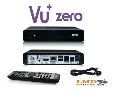 100% Original VU+ ZERO Black Full HD 1080p*DVB-S2 HD*USB*RS232*LAN*MIPS CPU