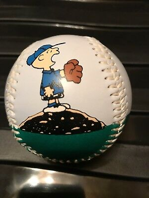 Collectable Baseball  Ball - Charlie Brown - Snoopy - Very Rare