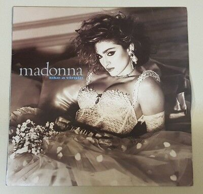 Madonna Like A Virgin Very Rare Israeli Mint Unplayed Lp With Insert Cover 1984
