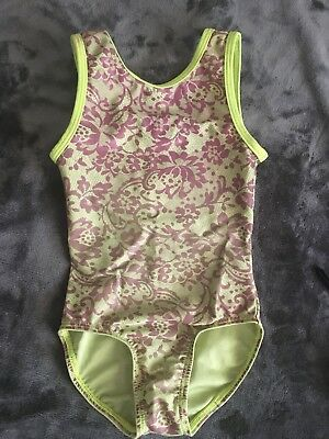 Gymnastics Or Dance Leotard Size Small (pelle Active Wear)