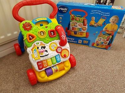 VTech First Steps Baby Walker - Excellent Condition - Complete with Box