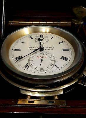 Ulysse Nardin, Marine Chronometer, Excellent Condition !!!!!!, Only Pick Up