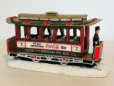 """Coca-Cola Town Square Collection, """"Old Number Seven"""", #64310, 1992"""