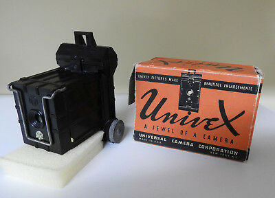 RARE Vintage Universal Univex Model A Camera & Box Manual