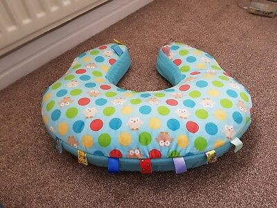 Vibrating nursing pillow - excellent condition - very colourful and playful