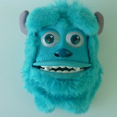 Monsters Inc Sulley Childrens Mask Moving Mouth Eyebrows Disney Pixar Toy.