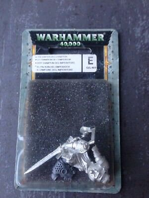 Space Marine Champion Des Imperators -limitiert-rare- Black Templar