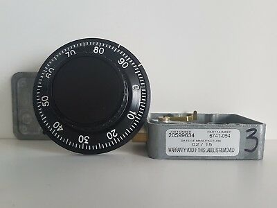 BRAND NEW Sargent & Greenleaf 6741-54 Combination Lock Complete With Dial & Ring