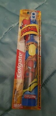 COLGATE Electric toothbrush for children (batteries included) SPIDERMAN Blue