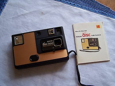 Vintage Kodak Disc 3100 Camera