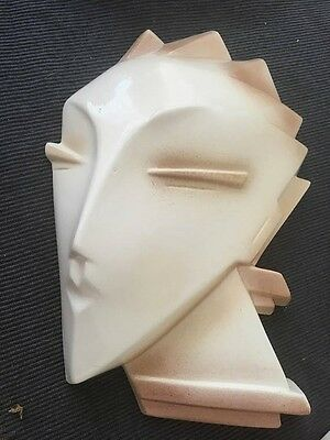 RARE   Beige Vintage 80's Wall Mannequin BY LINDSEY B  one of three for sale
