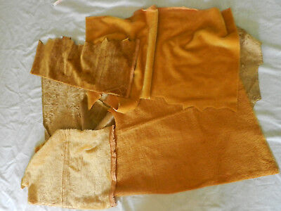 Lot mohair remnants for Teddy Bear Making Craft Dolls