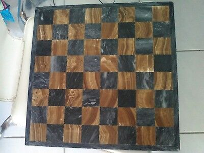 Marble Chess Board used condition solid