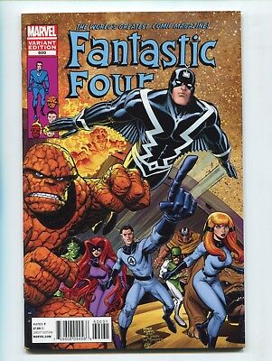 2012 Marvel Fantastic Four #600 1:25 Art Adams Inhumans Variant Nm+ 9.6 D1