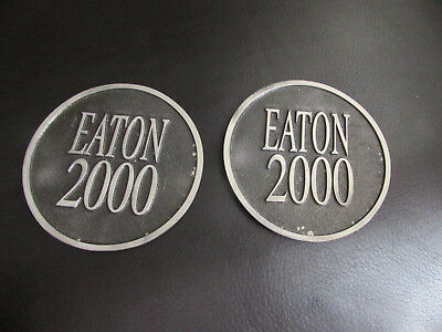 Eaton's Department Store Metal Coasters Eaton CANADA 2000