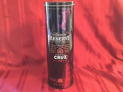 Special Reserve Porto Cruz Empty Bottle Tin Produce of Portugal