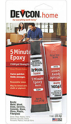 Business & Industrial Glues, Epoxies & Cements Itw Global Brands 25ml Clear 5-minute Fast-drying Epoxy 20845
