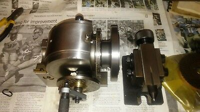 Dividing Head , B&S type 40 to 1 ratio with 3 diving plates an tailstock