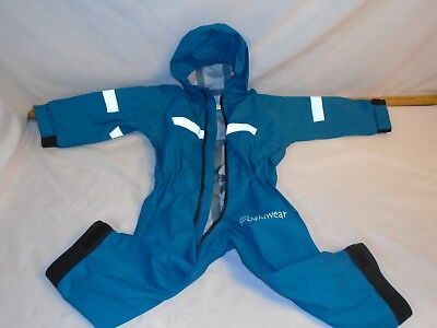 Oakiwear Rain Suit - Blue - Toddler - 3T