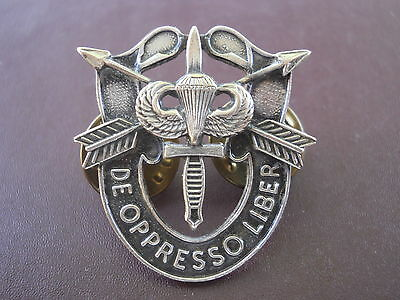 Special Forces Crest DI SF Pin US Army SFG Airborne Jump Wing SOG Insignia
